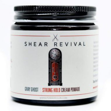 Sáp tạo kiểu tóc Shear Revival Gray Ghost Strong Hold Cream Pomade 114gr